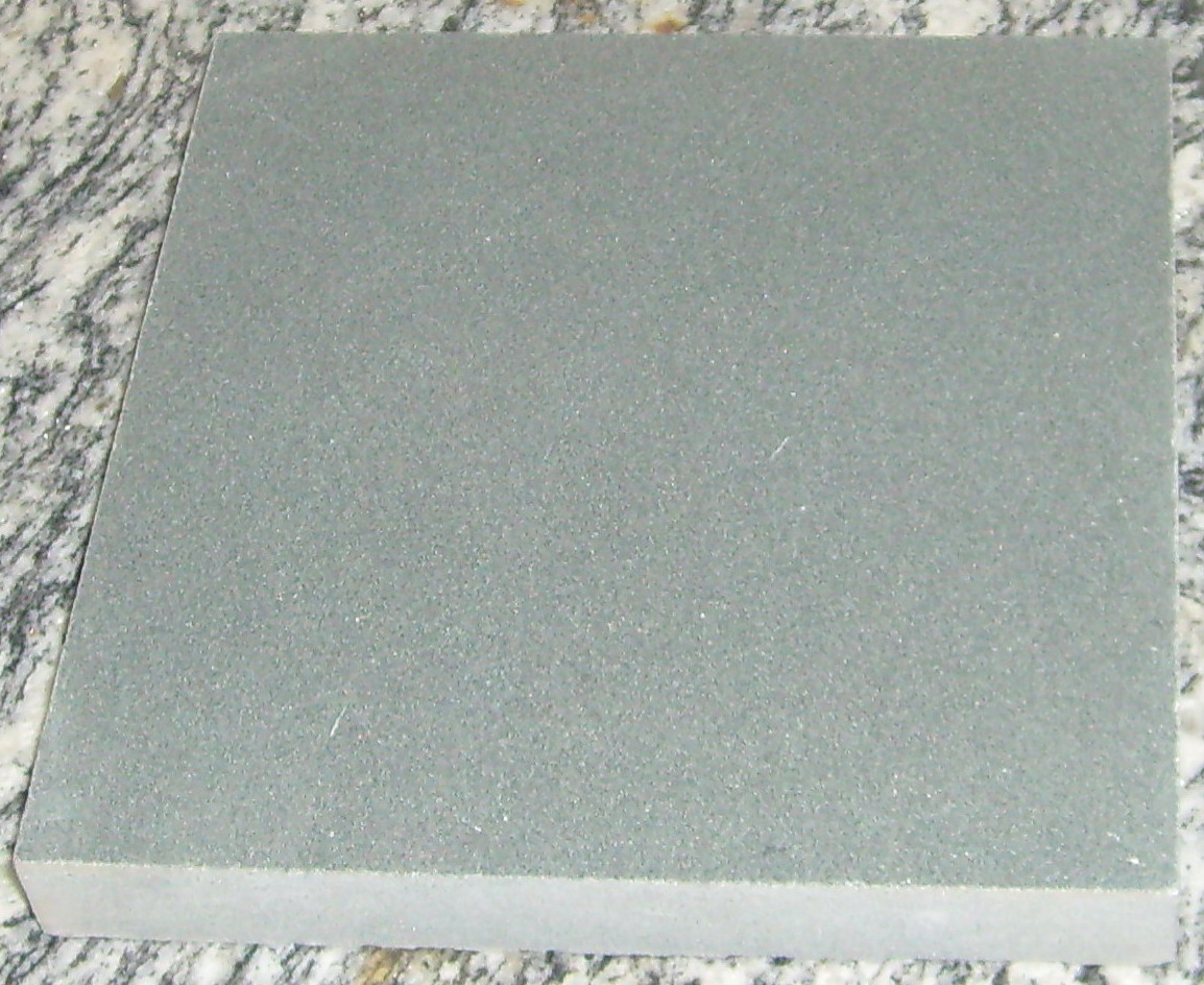 Green sandstone honed