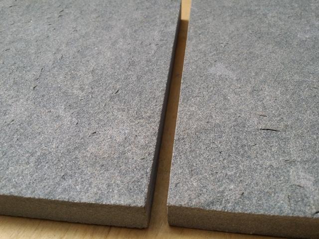 Grey sandstone flamed