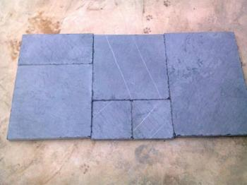 Bluestone Roman & French Pattern