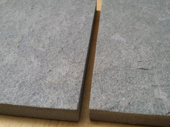 Grey sandstone flamed